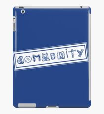 Community College iPad Case/Skin