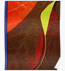 A Leaf Becomes a Notebook Poster