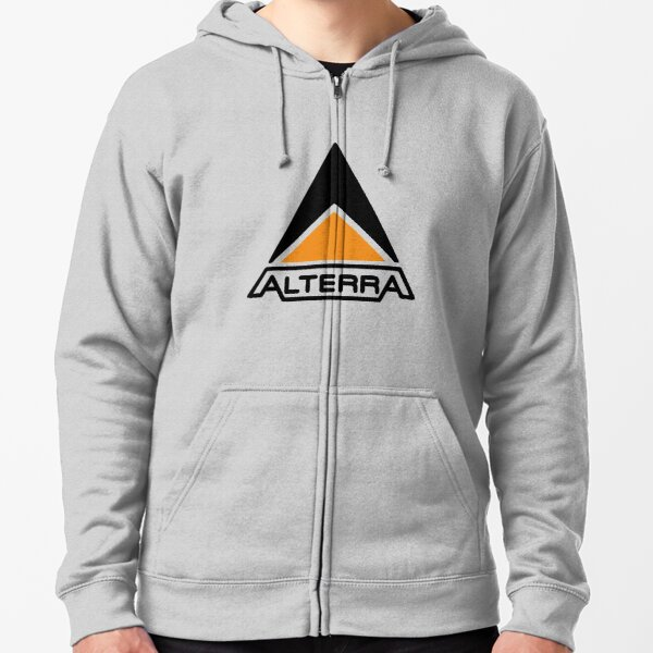 Alterra Logo Zipped Hoodie