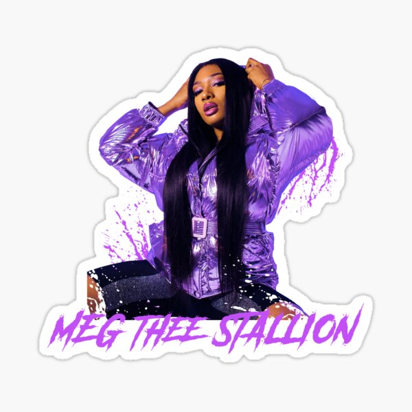 Meg Thee Stallion Stickers Redbubble