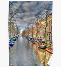 Sunday Afternoon in Amsterdam Poster