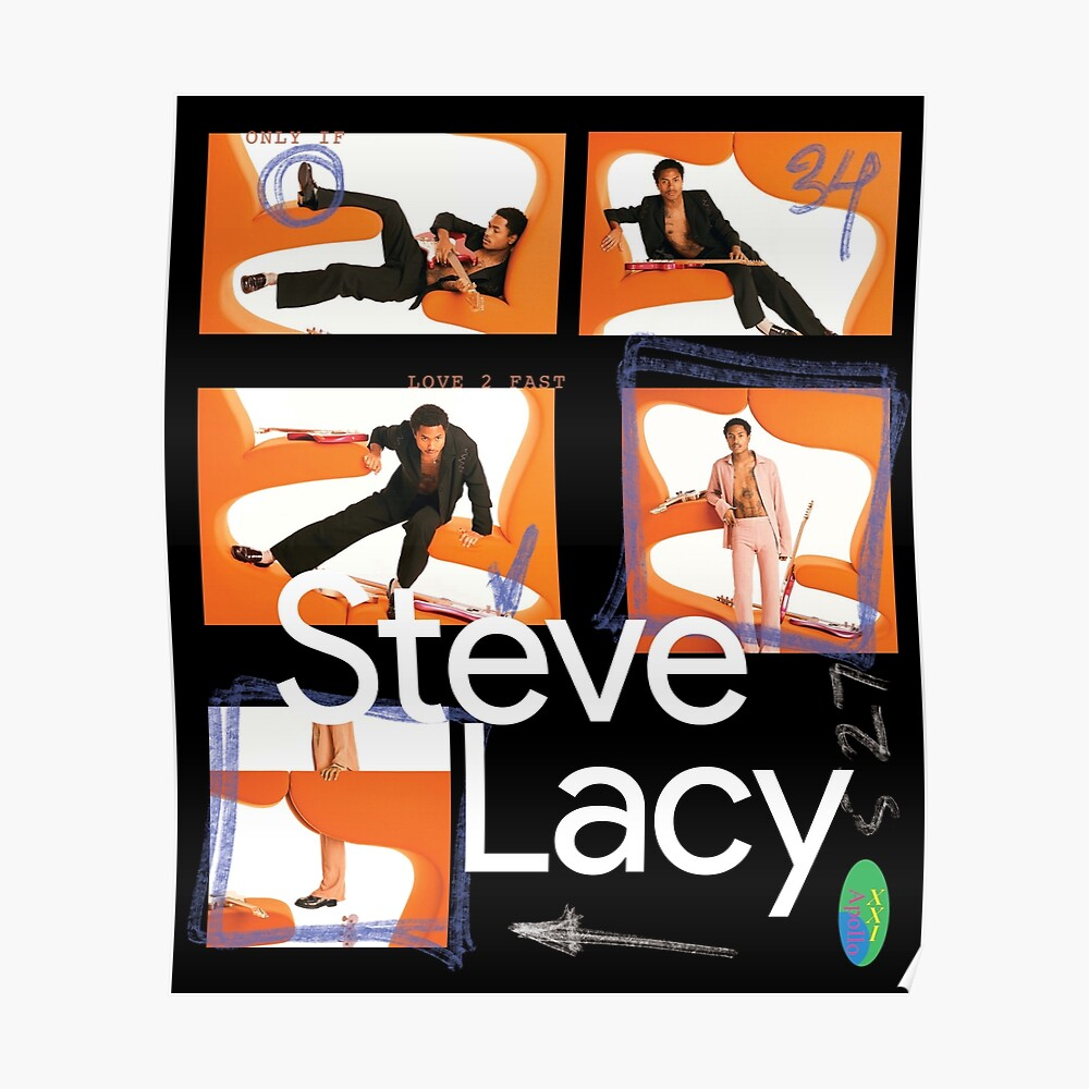 24428b5aa5716 Steve Lacy Apollo XXI Contact Sheet Poster   Poster