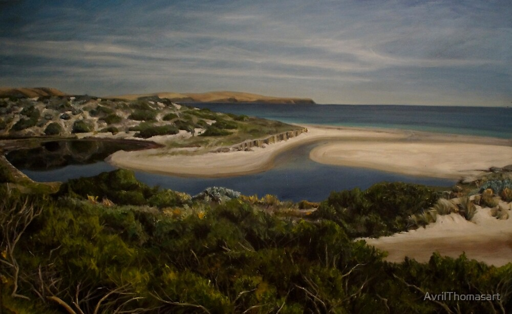 Normanville - South Australia - Fleurieu Peninsula - original work - oil on canvas by Avril Thomas by AvrilThomasart