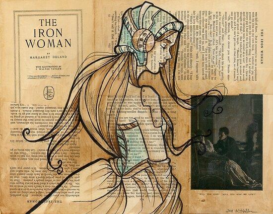 Iron Woman 10 by Karen  Hallion