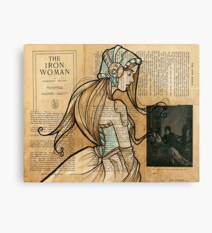 Iron Woman 10 Canvas Print