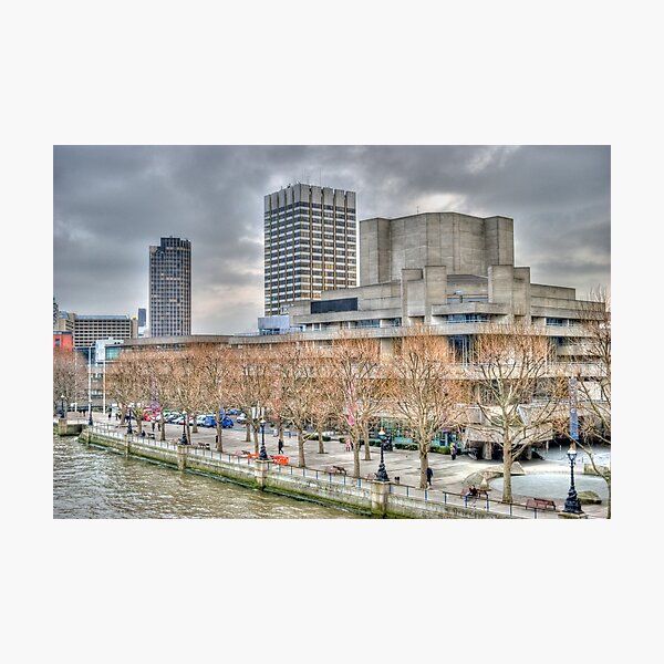 The National Theatre Photographic Print