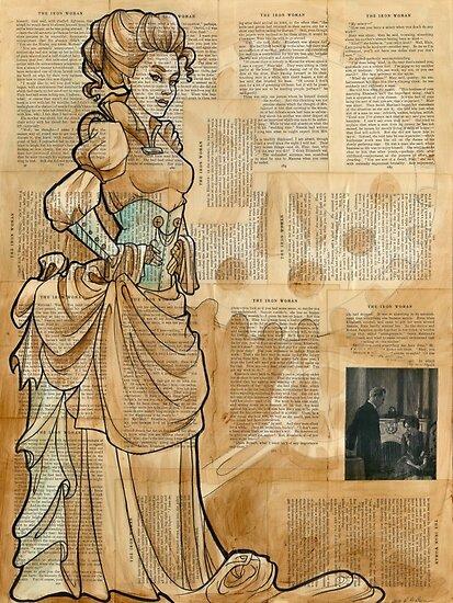 Iron Woman 12 by Karen  Hallion