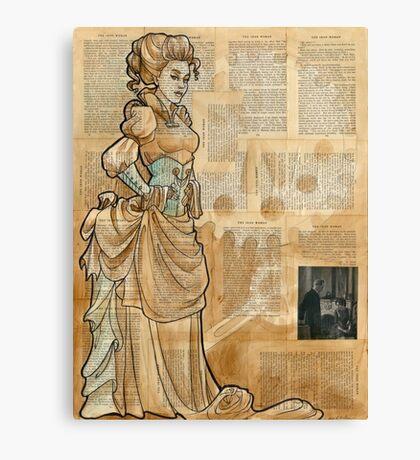 Iron Woman 12 Canvas Print