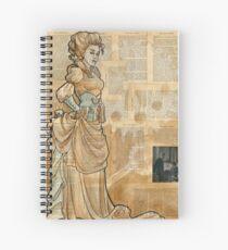 Iron Woman 12 Spiral Notebook