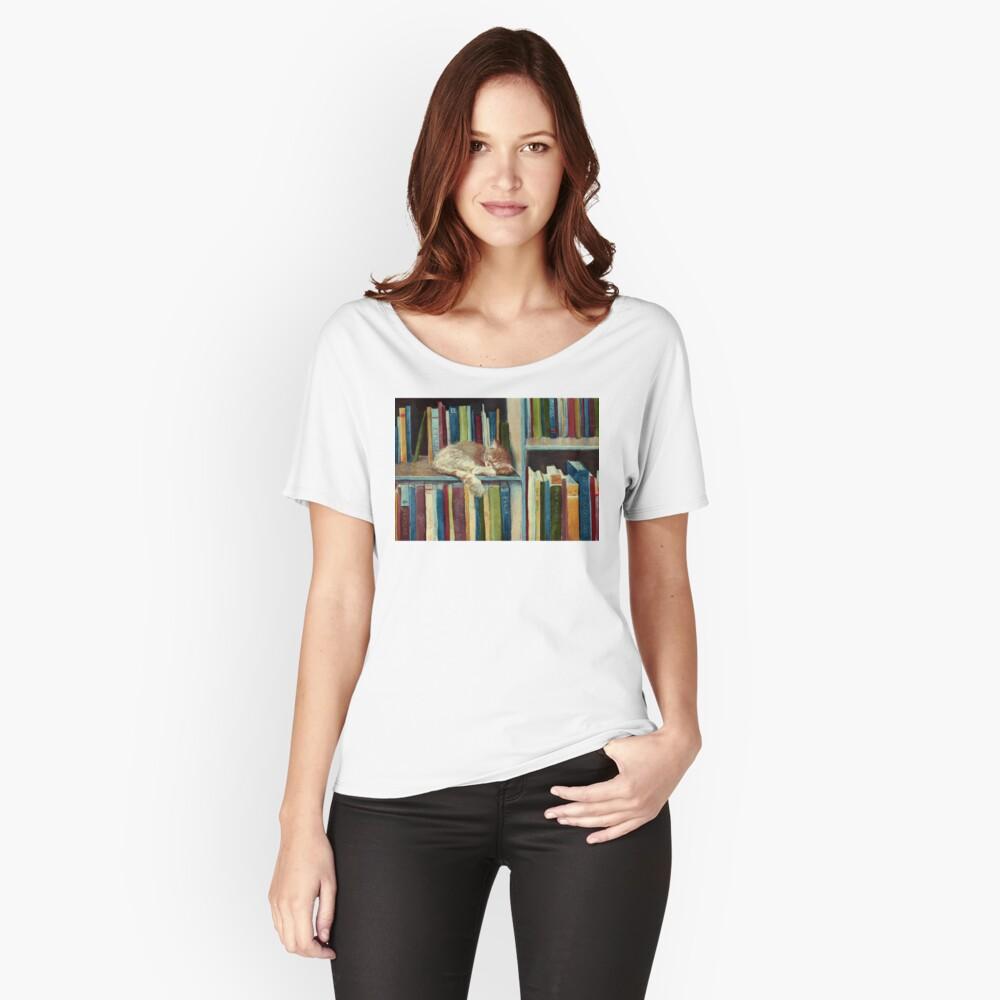 Bastante bien leído Camiseta ancha