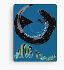 Lockheed Neptune Wing Warp T-shirt Design Canvas Print