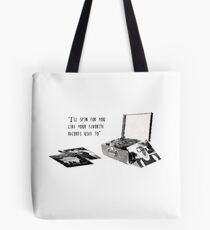 Favourite Record Tote Bag