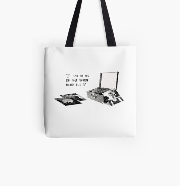 Favourite Record All Over Print Tote Bag