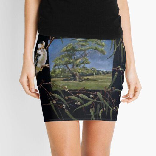 Merry Merry King - Oil on canvas  Mini Skirt