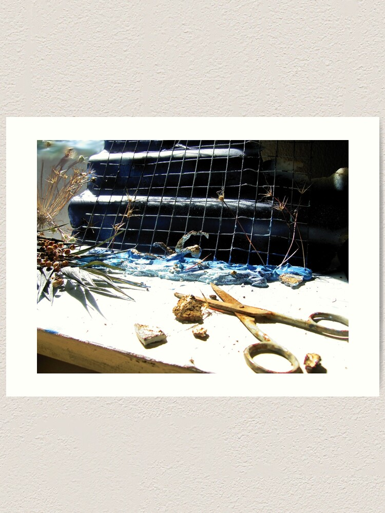 Alternate view of Swimming Composition Art Print
