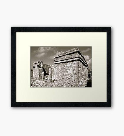 Las Ruinas de Tulum II Framed Print