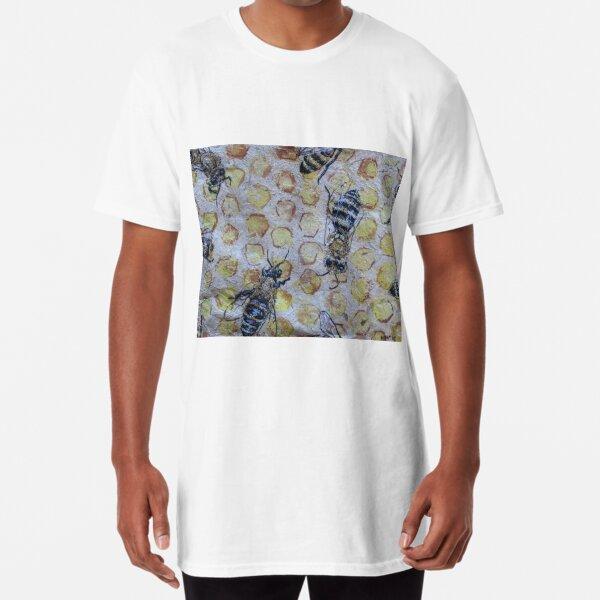 Honey Bees Art Long T-Shirt