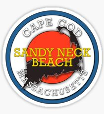 Sandy Neck Beach - Cape Cod Massachusetts Sticker