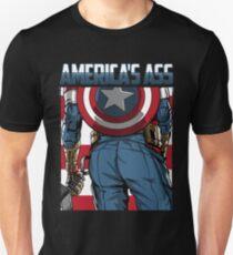 AMERIKAS ARSCH Slim Fit T-Shirt