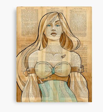 Iron Woman 8 Canvas Print