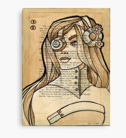 Iron Woman 6 Canvas Print