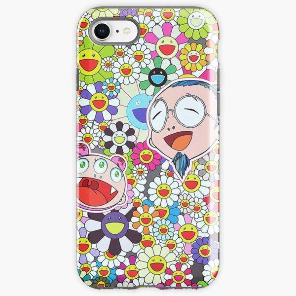 Murakami and Happy Flowers iPhone Tough Case
