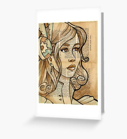 Iron Woman 2 Greeting Card