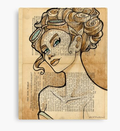 Iron Woman 5 Canvas Print