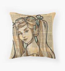 Iron Woman 4 Throw Pillow