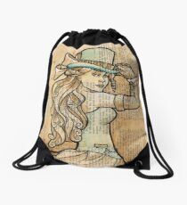 Iron Woman 3 Drawstring Bag