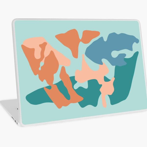 Abstract Pastels Laptop Skin