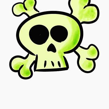 LIME SKULL by customclothes