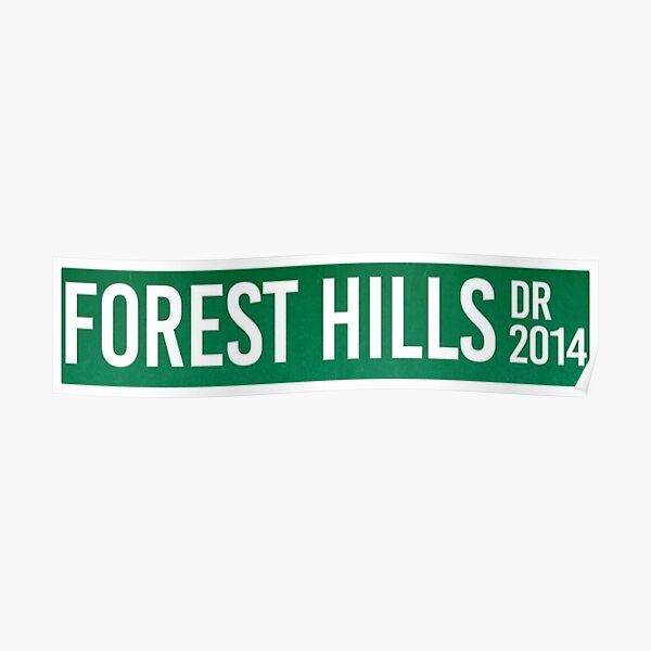 J Cole Forest Hills Poster