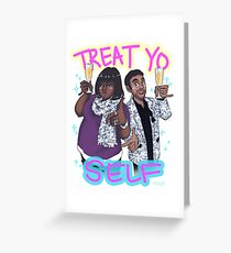 Treat Yo Self Greeting Card