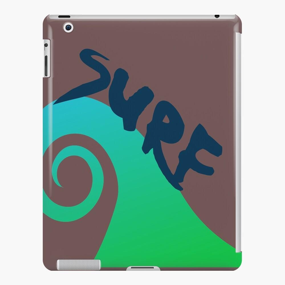 Surf Wafe Surf Surfista Surf Surf Surf Funda y vinilo para iPad