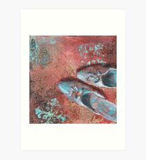 Not in my shoes Art Print