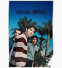 vintage wallows poster Poster