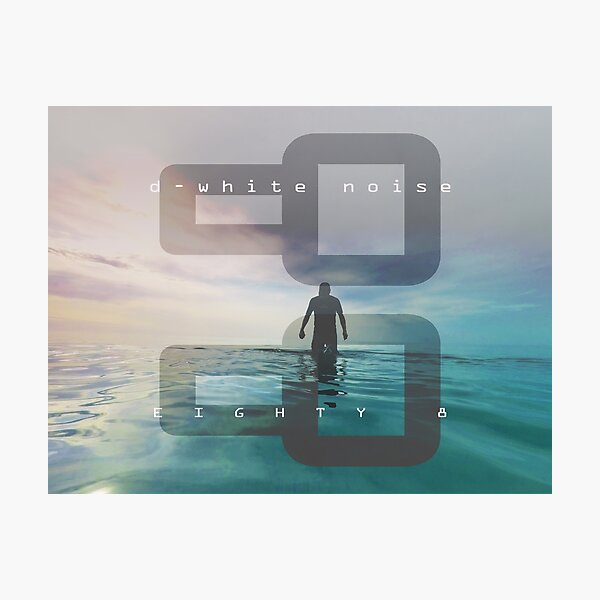 D-White Noise 'Eighty 8' Photographic Print