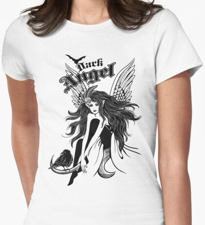 Dark Angel (Black & White) T-Shirt