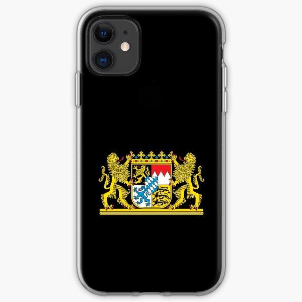 Bavaria coat of arms iPhone Soft Case