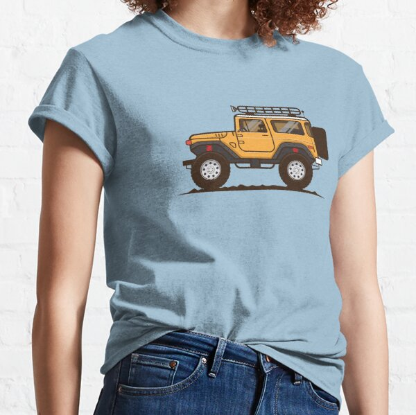 FJ40 Illustration Classic T-Shirt