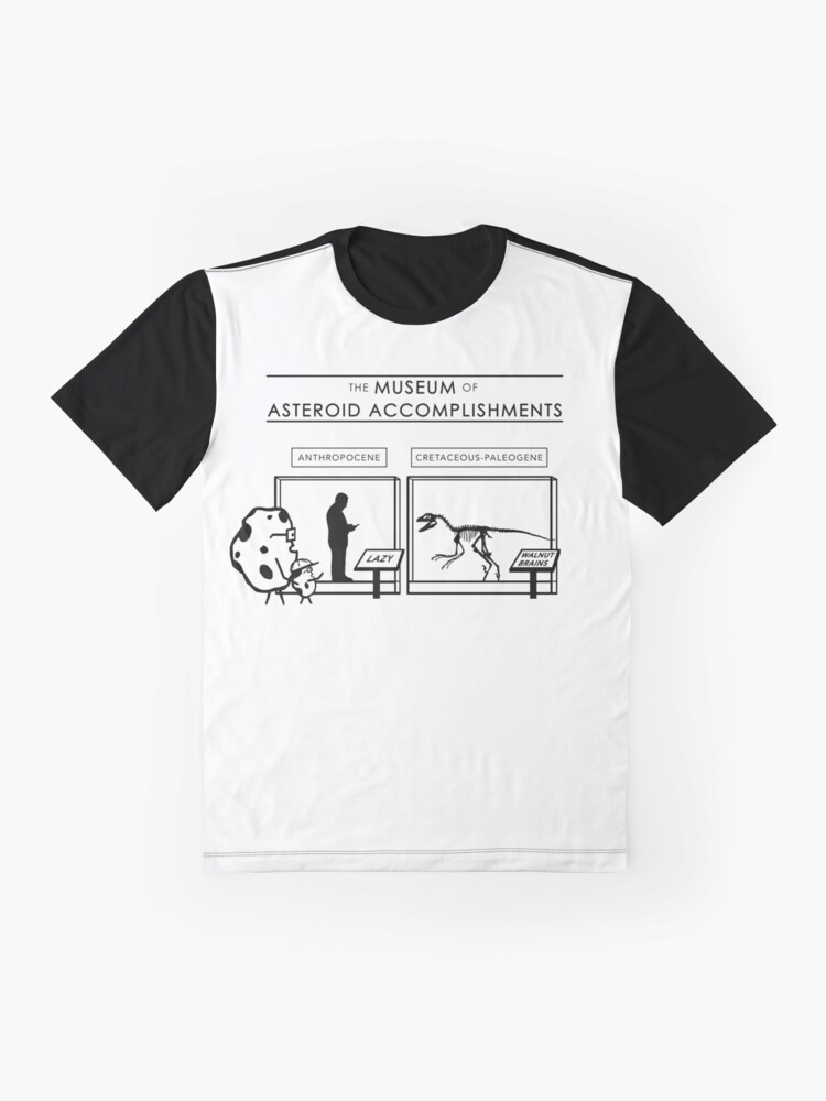 Alternate view of The Museum of Asteroid Accomplishments Graphic T-Shirt
