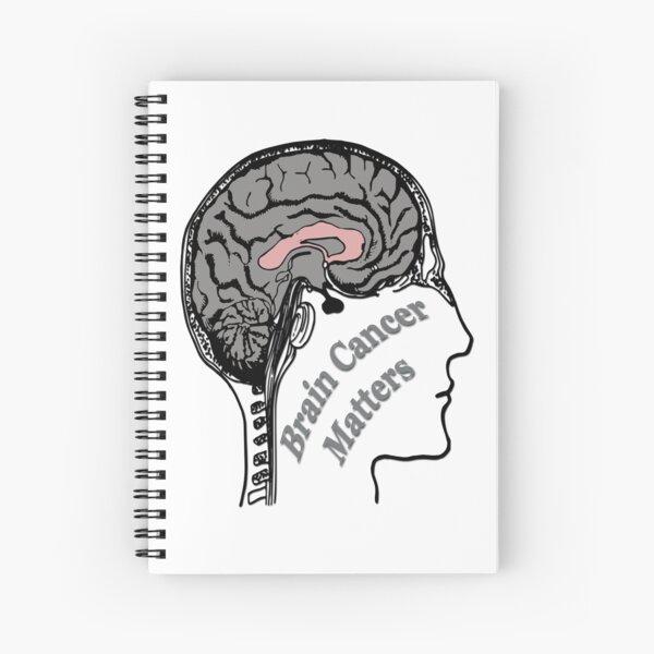 Brain Cancer Matters Spiral Notebook