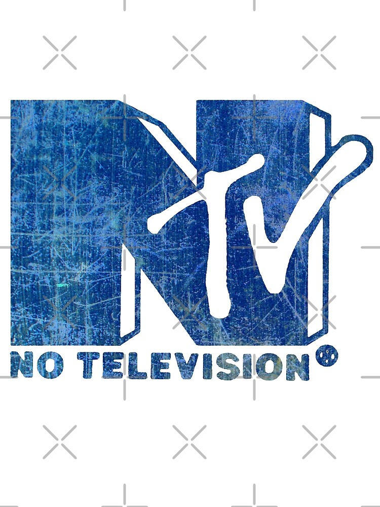 NO TELEVISION by FREE T-Shirts