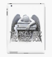 Angels have the phone box iPad Case/Skin