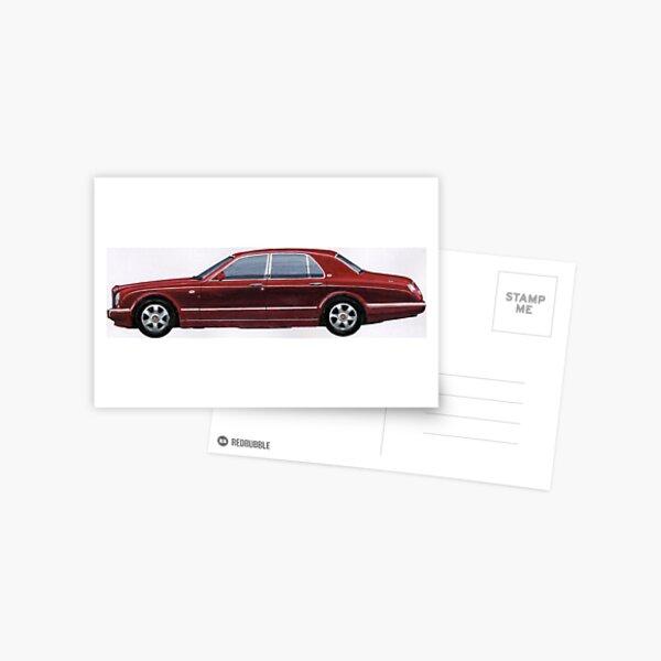 Bentlzy RED Label Postcard