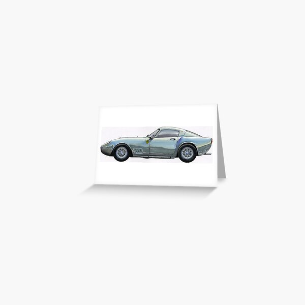 Frrari 250 GT TDF Greeting Card