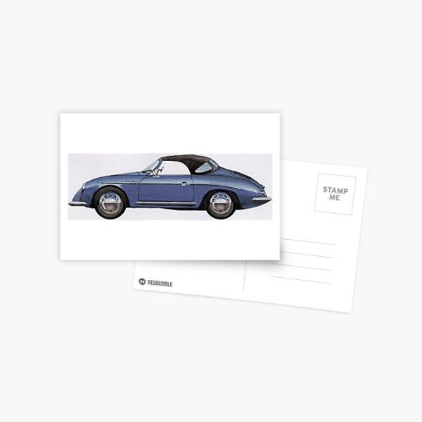 Prsche Speedster Postcard