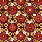 Alhambra Blossom Flowers by BigFatArts