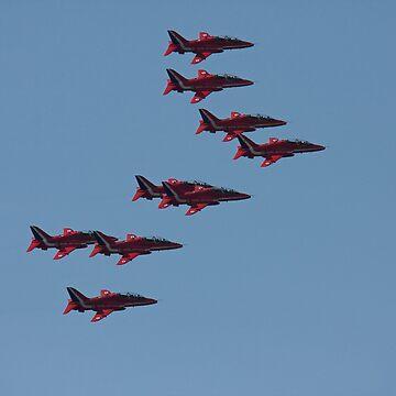 Red Arrows by jon77lees